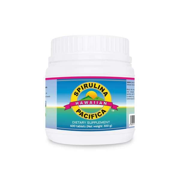 Spirulina Pacifica ® hawaiana 500 mg (600 compresse) – integratore alimentare