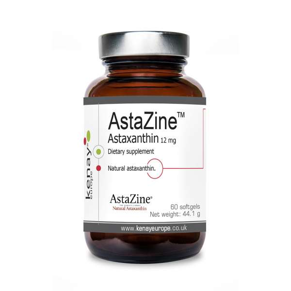 AstaZine™ Astaxantina 12 mg (60 capsule) – integratore alimentare