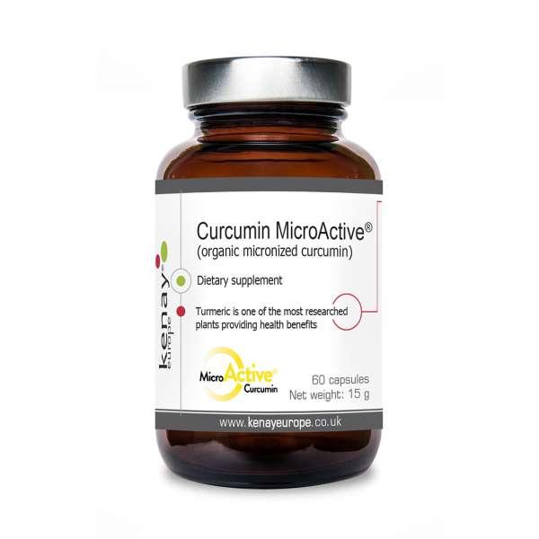 Curcuma micronizzata - CURCUMIN MicroActive® (60 capsule) – integratore alimentare
