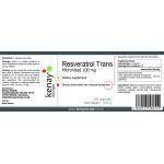 Trans-resveratrolo micronizzato 100 mg (60 capsule) – integratore alimentare