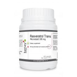 Trans-resveratrolo – micronizzato 100 mg (300 capsule) – integratore alimentare