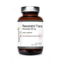 Trans-resveratrolo micronizzato 200 mg (60 capsule) – integratore alimentare