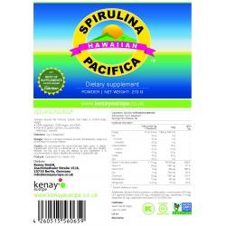 Spirulina Pacifica® hawaiana in polvere (270 g) – integratore alimentare