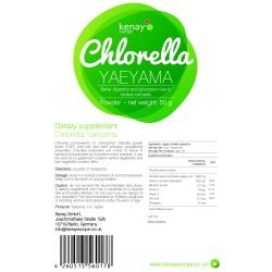 Clorella Yaeyama in polvere (50g) - integratore alimentare