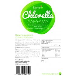 Clorella Yaeyama in polvere (200g) - integratore alimentare